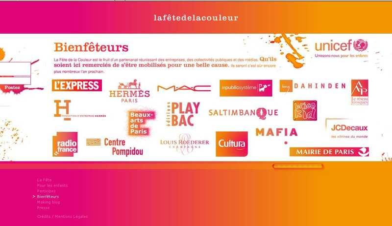 16dca9fc3e74bf LuxeCie   La fête de la couleur soutient à l Unicef